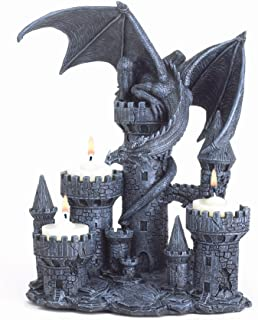 knight candle holder