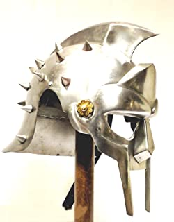 Gladiator Maximus Helmet / fitted liner - movie / film / larp / role-play / fancy-dress