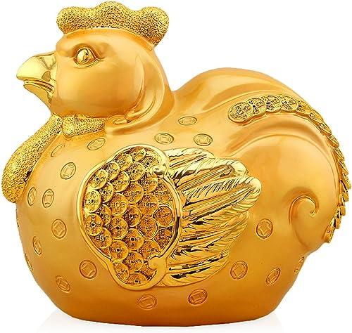 oferta especial Hucha De Papel Moneda Pollo Monedas Hucha Hucha Hucha Hucha Niño oro Gallina Del Pollo Dorada  precios mas bajos