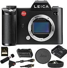 Leica 24 SL Type 601, Mirrorless Camera, Black (10850) W/ 128GB Bundle