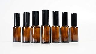 Yizhao Ambar Pulverizador Cristal 30ml, Glass Spray Bottles con [Atomizador],para Aceites Esenciales, Mezclas de Aromaterapia, Perfumes, Masajes, Líquidos Químicos, Farmacéutico– 24Pcs