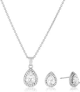 MESTIGE Women Crystal Amina Set with Swarovski Crystals