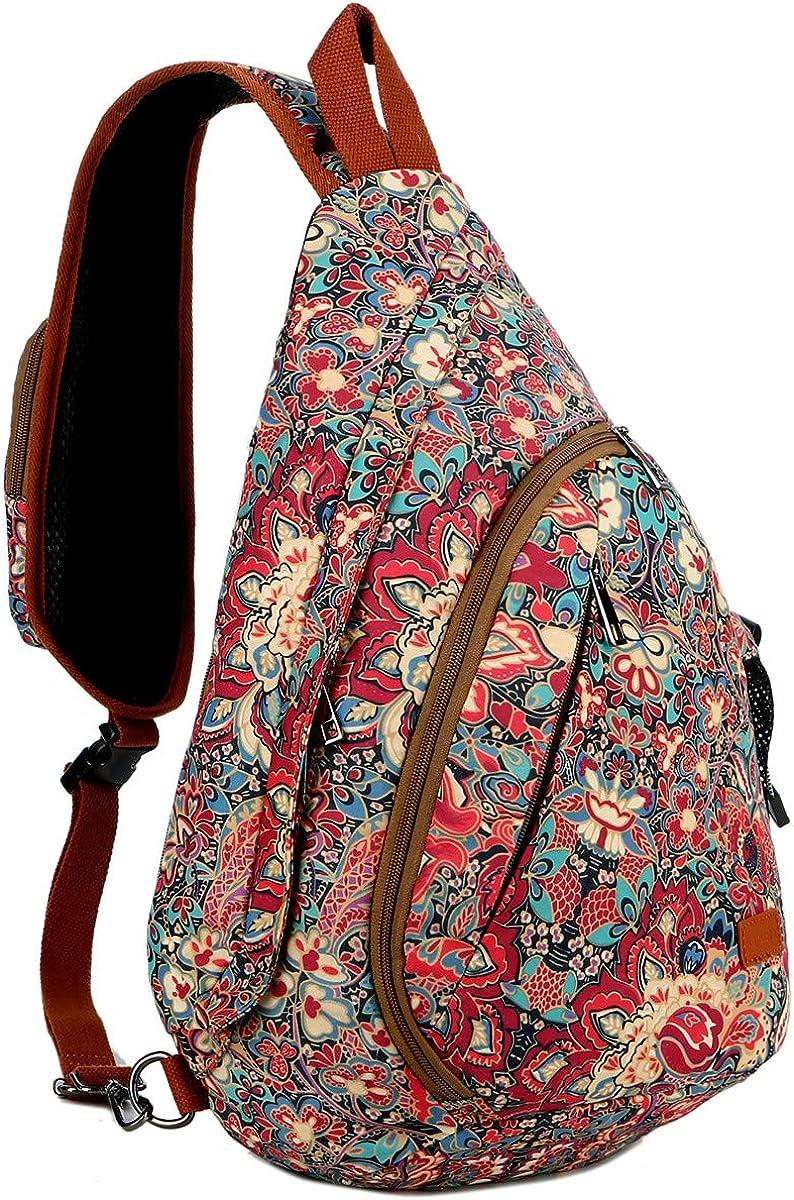 BAOSHA Max 59% OFF Sling bag Crossbody Shoulder Chest Hiking Large discharge sale Bag Dayp Travel