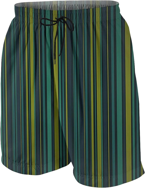 WIUEZWY Swim Trunks Boy Quick Dry Board Shorts Mesh Lining Beach Pant, 3 Pockets