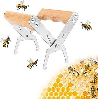 Hive Rahmen Imker Werkzeug Bienenwaben Werkzeug Imkerei Zange für Imker zum Schutz vor Bienenstich