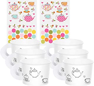 Tea Time Tea Party Decorate Your Own Favour Cups (6 ct)
