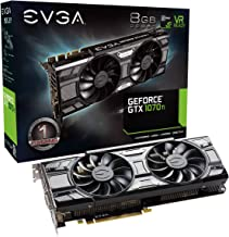 EVGA GeForce 08G-P4-5671-KR, GTX 1070 Ti SC GAMING ACX 3.0 Black Edition, 8GB GDDR5, EVGA OCX Scanner OC, White LED, DX12O...