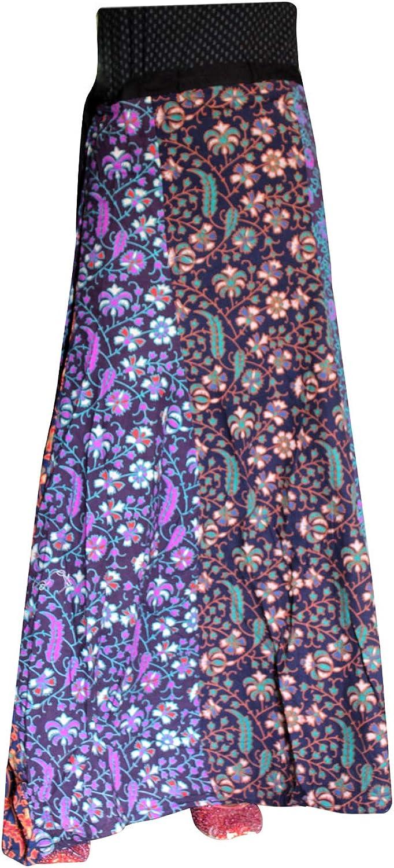 Lakkar Haveli Indian Style Skirt Party Wear Gypsy Casual Boho Beach Wear Women's Patchwork Long Skirt Multi Color