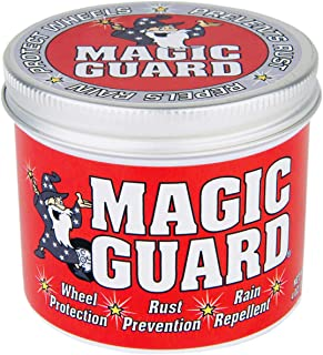 Magic Guard – Best Wheel Wax – Sealant & Protection for All Wheels – Easy Removal of Brake Dust & Road Grime - Hydrophobic – Acid, Corrosion & Moisture Resistant – Made in USA – 4 oz