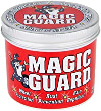 Magic Guard – Best Wheel Wax – Sealant & Protection for All Wheels – Easy Removal of Brake Dust & Road Grime - Hydrophobic – Acid, Corrosion & Moisture Resistant – Patented Multi-Use – 4 oz