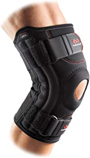 McDavid Level 2 Knee Support With Open Patella, Black, Size M