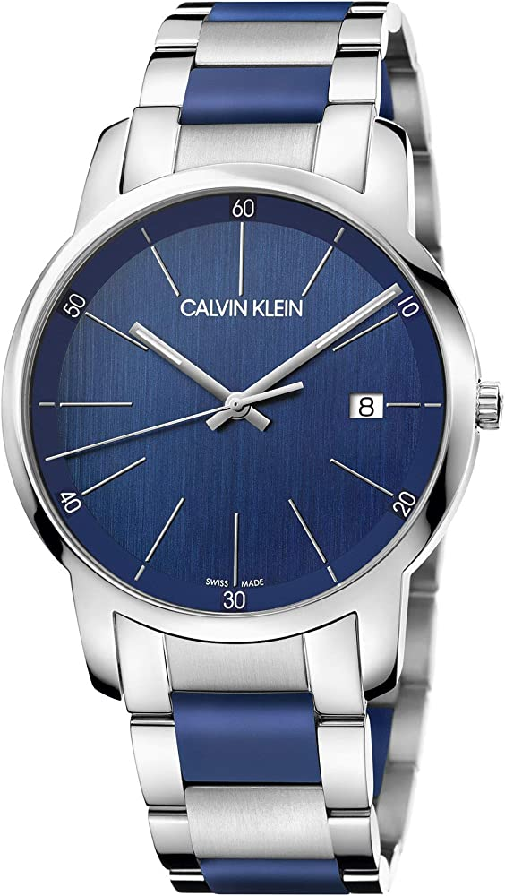 calvin klein, orologio analogico-digitale al quarzo, unisex,in acciaio inossidabile k2g2g1vn