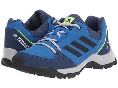 adidas Outdoor Kids Terrex Hyperhiker Low (Little Kid/Big Kid) (Glory Blue/Black/Signal Green) Boy