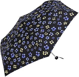 Nifty Colors(ニフティカラーズ) 折りたたみ傘 sumireミニ55 ブラック