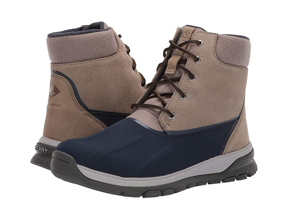 Sperry Seamount Duck Boot (Taupe/Navy) Men