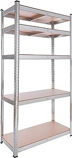 Arebos rekken voor zware lasten in verschillende maten | draagvermogen tot 875 kg | eenvoudige montage door insteeksysteem...