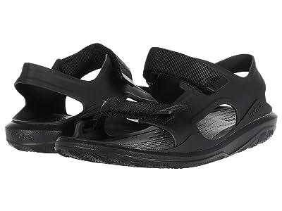 Crocs Swiftwater Expedition Sandal (Black/Black) Men