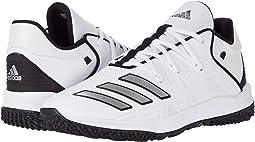 Footwear White/Silver Metallic/Core Black