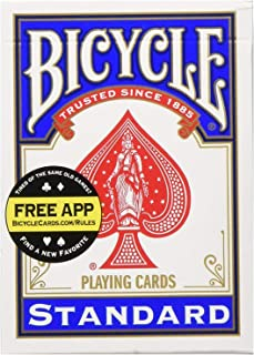 Bicycle Poker Size Standard Index Playing Cards (2-Pack)