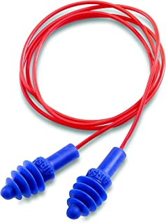Howard Leight by Honeywell AirSoft Flanged Corded Reusable Shooting Earplugs, 2-Pairs (R-01521)