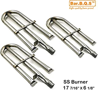 Bar.b.q.s 10191(3-pack) Perfect Flame 3019l, Perfect Flame 3019lng Gas Grill Models Stainless Steel Burner Replacement (17 7/16