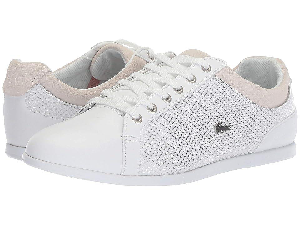 Lacoste Rey 418 1 (White/Silver) Women