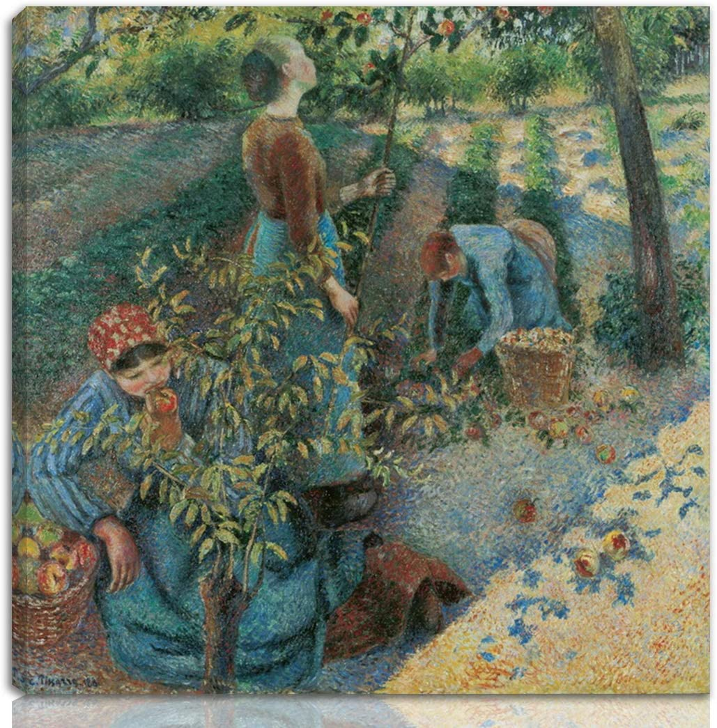 Berkin Arts Camille Jacob quality assurance 2021 autumn and winter new Pissarro Can Print Giclee On Stretched