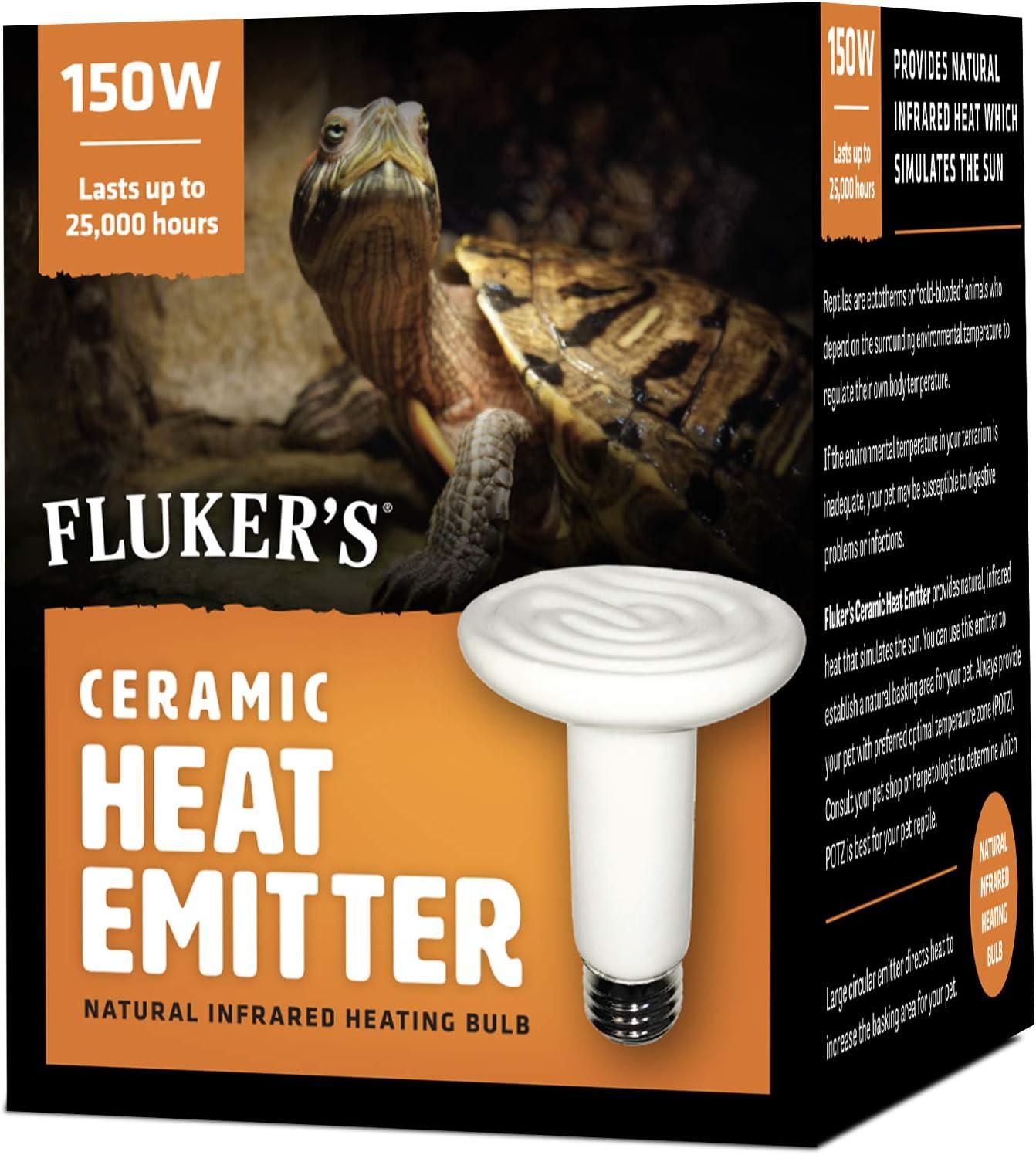 Flukers Ceramic Heat Emitter for Reptiles 60 Watt .1-Count 100 Watts