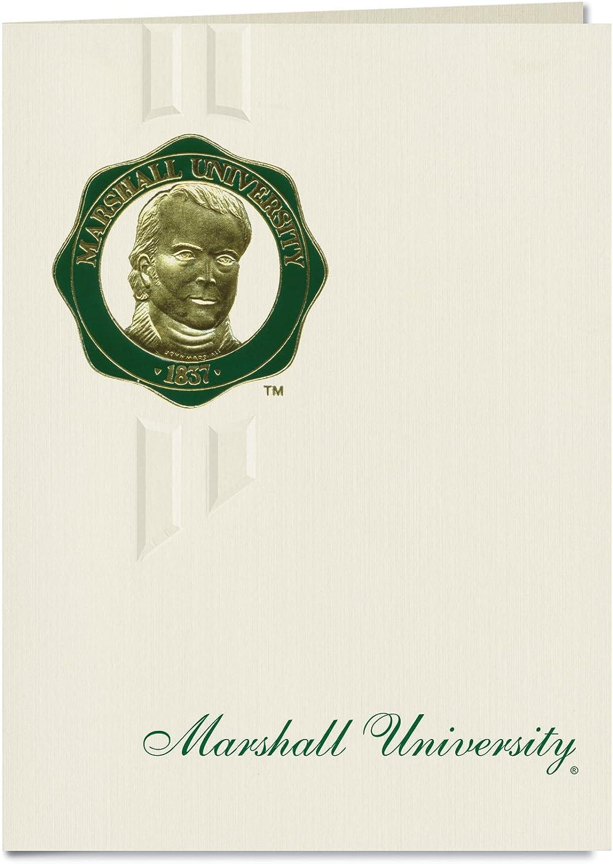 Signature Ankündigungen Marshall Universität Graduation Ankündigungen, eleganten Stil, Elite Pack 20 mit Marshall u. Dichtung Folie B0793M8TJF  | Erste Gruppe von Kunden