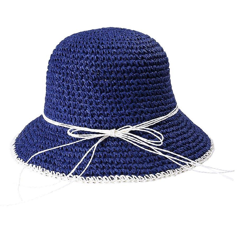 無能線インド日よけ 帽子 レディース つば広 ハット uvカット 夏 夏季 手作り おしゃれ 可愛い 女優帽 小顔効果抜群 折りたたみ 海 旅行 自転車 帽子 レディース つば広 ハット日よけ 折りたたみ 軽量 ROSE ROMAN
