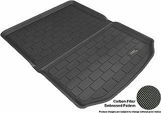 3D MAXpider Cargo Custom Fit All-Weather Floor Mat for Select Cadillac ATS Models - Kagu Rubber (Black)