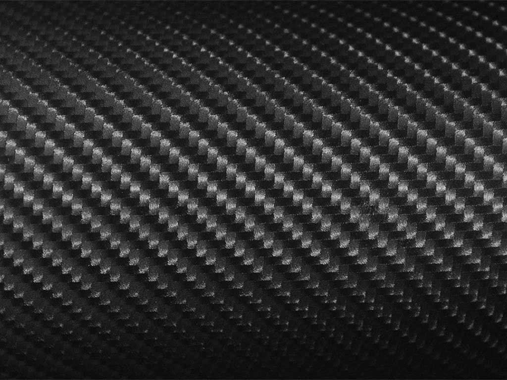Rvinyl Rdash Dash Kit Decal Trim Compatible with Toyota Rav4 2006-2012 - Carbon Fiber 4D (Black)