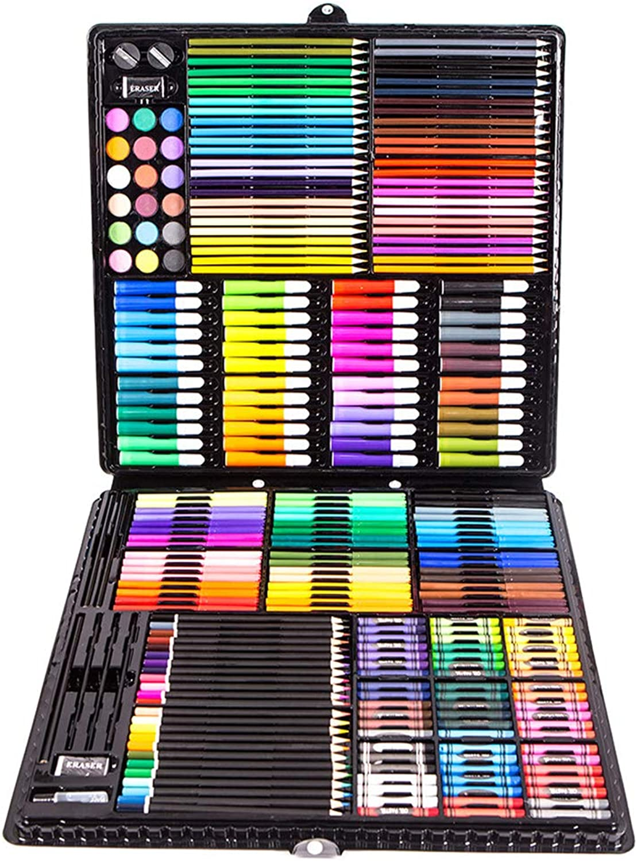hasta un 50% de descuento L&Z Estuche de Pintura para para para Niños, 258 Piezas Lápices de Colors, Juego de Pintura Juego de Niños, Juguetes Infantiles, Regalo para Niños, Juego de Colors  productos creativos