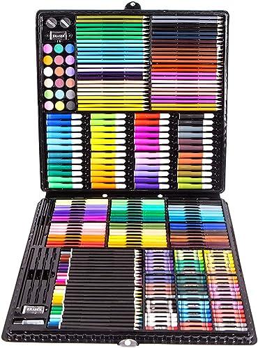 barato L&Z Estuche de Pintura para Niños, 258 Piezas Lápices Lápices Lápices de Colors, Juego de Pintura Juego de Niños, Juguetes Infantiles, Regalo para Niños, Juego de Colors  cómodamente