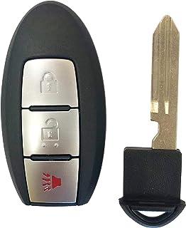 Fits 2011-2017 Nissan Juke Keyless Entry Remote Key Fob Start CWTWB1U808,by AUTOKEYMAX (SINGLE)