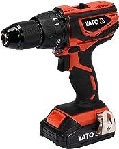 مثقاب لاسلكي مقاوم للصدمات 13 مم 18 فولت ث / 1 × 2.0 أمبير وشاحن سريع BMC Box Yato العلامة التجارية YT-82788