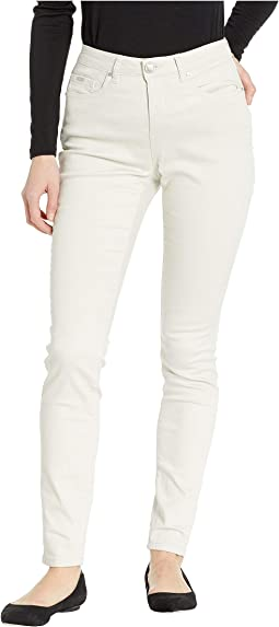 Soft Hues Denim Olivia Slim Leg in Straw