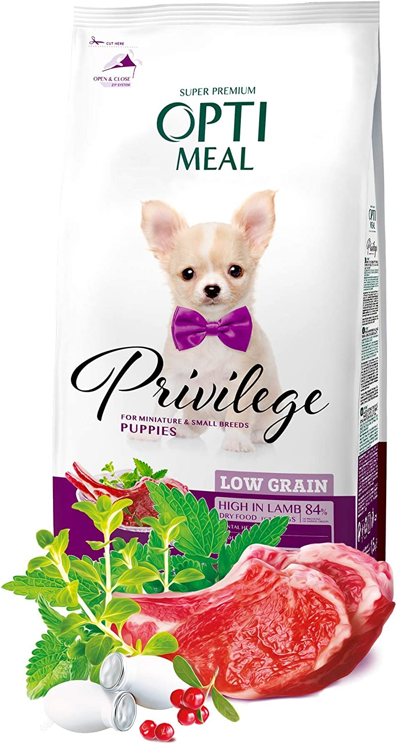 OPtimeal Privilege Puppy Dry Dog Food Direct stock discount for Grain Small outlet Mini Low