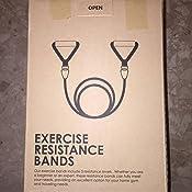 EgoIggo Bandas de Resistencia, 150lbs Bandas Elasticas Musculacion, 5 Tubos de Látex, con Asas, Correas de Tobillo Y Anclaje para Puerta, Kit de ...
