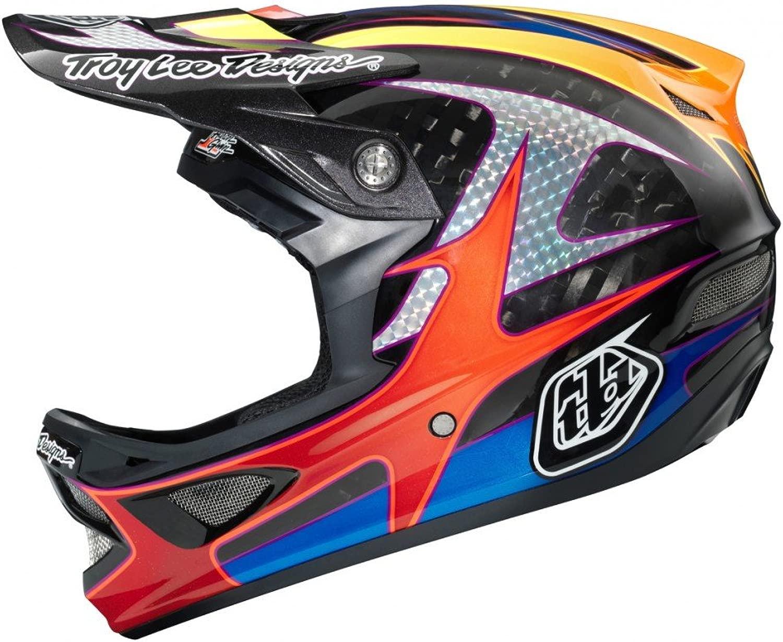 Troy Lee Designs D3グウィンブラック - ミディアムヘルメット
