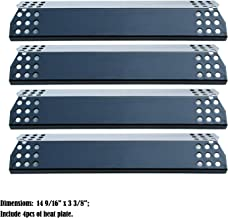 Direct store Parts DP129 (4-Pack) Porcelain Steel Heat Shield/Heat Plates Replacement Sunbeam, Nexgrill, Grill Master, Charbroil, Kenmore, Kitchen Aid, Members Mark, Uberhaus, Gas Grill Models (4)
