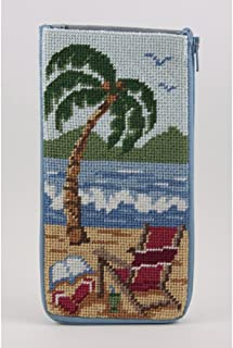 Eyeglass Case - At The Beach - Needlepoint Kit