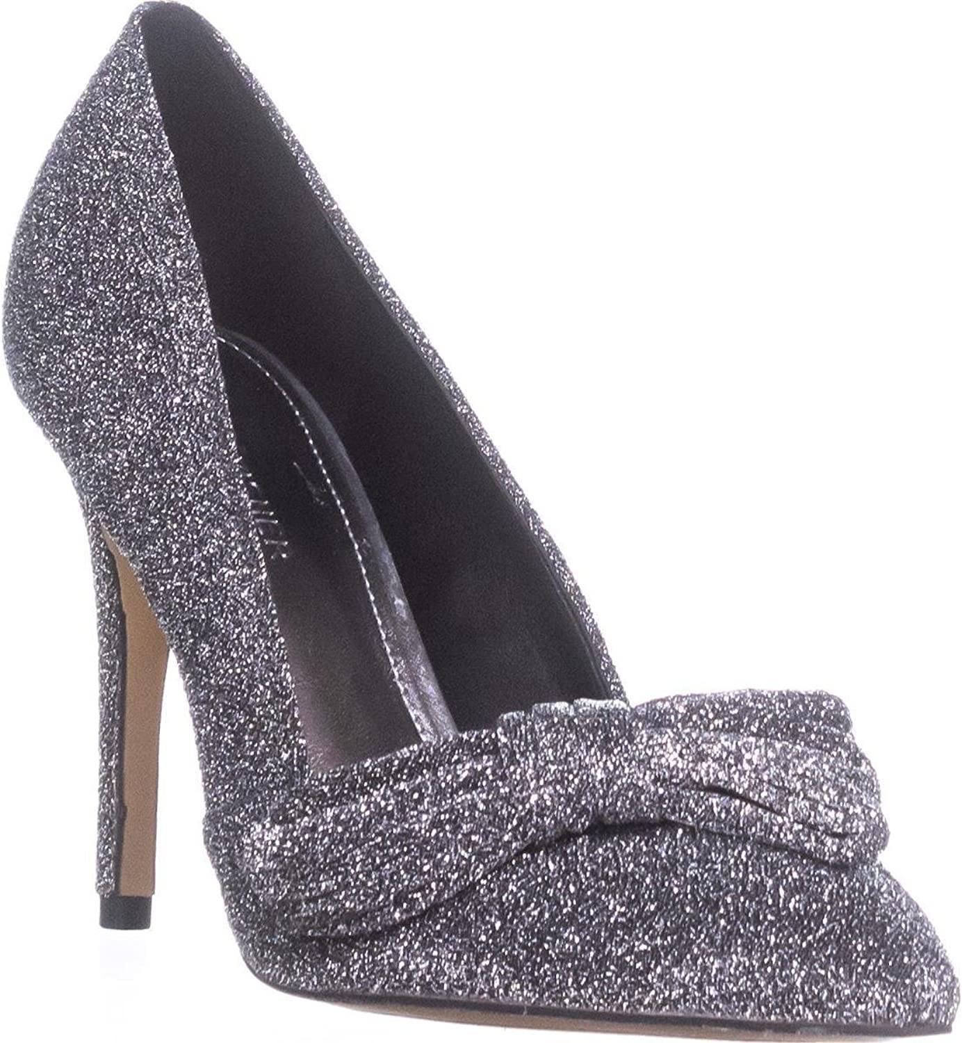 Marc Fisher Nighta Stiletto Pumps, Pewter