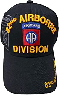 US Military 82nd Airborne Division Black Officially Licensed Cap