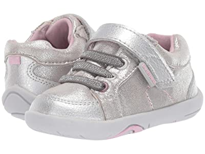 pediped Dani Grip n Go (Toddler) (Silver Shimmer) Girl