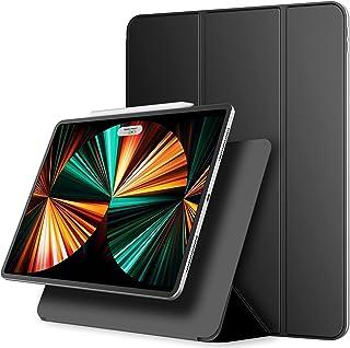 JEDirect iPadPro12.9インチ ケース モデル 2021/2020/2018モデル マグネットス吸着式 Pencil2対応 三つ折スタンド オートウェイクアップ/スリープ機能iPad Pro 12.9 3/4/5用