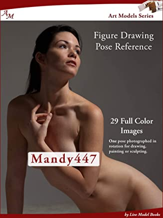 Art Models Mandy447: Figure Drawing Pose Reference (Art Models Poses) (English Edition)