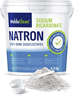 Bicarbonato de sodio para limpieza 4.5kg