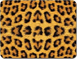 Meffort Inc Standard 9.5 x 7.9 Inch Mouse Pad - Leopard Prints