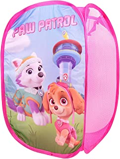 RDI Paw Patrol Pop-Up Laundry Hamper-Easy to Open and Folds Flat for Storage (Pink)